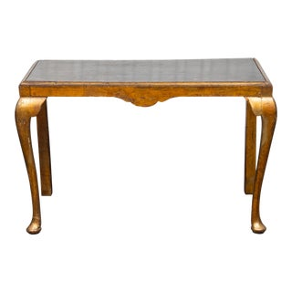 Georgian Style Giltwood Console Table For Sale