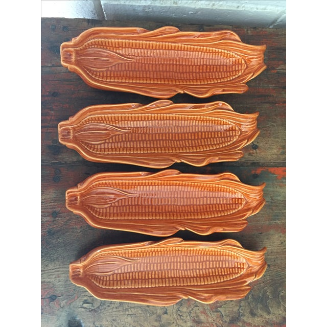 Corn on the Cob Serving Dishes - Set of 4 - Image 2 of 7