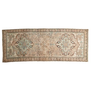 "Vintage Distressed Serab Rug Runner - 2'7"" X 6'10"""