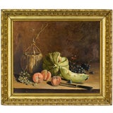 Image of French Still Life Painting For Sale