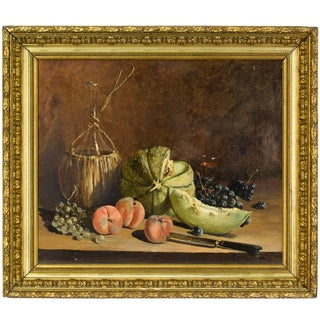 French Still Life Painting For Sale