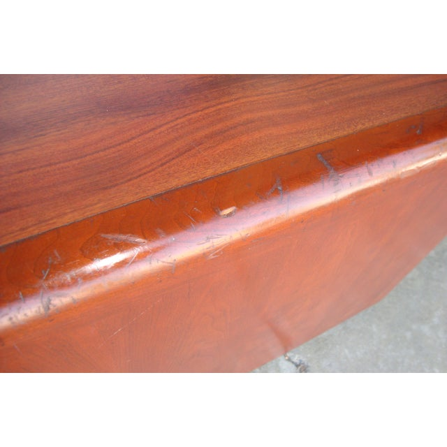 1970s 1970s Mid Century Wooden Coffee Table For Sale - Image 5 of 13