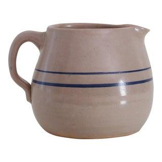 French Stoneware Pitcher