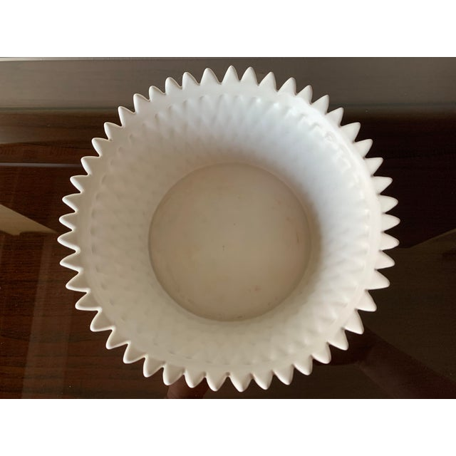 Off-white Fitz and Floyd Layered Leaf Dish For Sale - Image 8 of 12