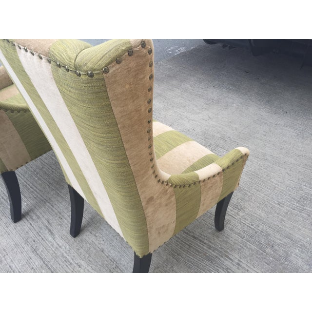 Lounge or Dining Chairs a Pair For Sale In San Francisco - Image 6 of 10
