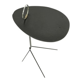 Mid Century Folding Table Drink Stand For Sale