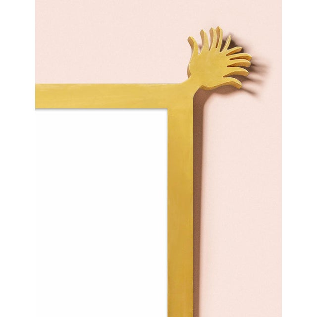 Contemporary Fleur Home x Chairish Vieux Mirror in Gold Leaf, 43x55 For Sale - Image 3 of 4