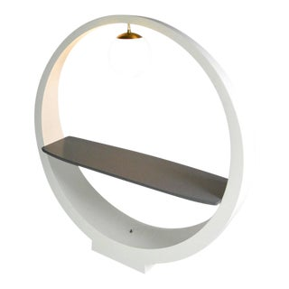 Sculptural Lamp Table by Modeline of California For Sale