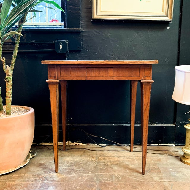 Late 1800's Napoleon Style Side Table For Sale In San Francisco - Image 6 of 6