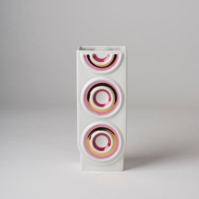 1970s Mid Century/Op Art Vase For Sale - Image 5 of 5
