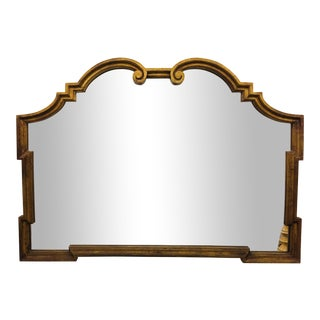 Vintage Empire Style Gilded Mirror