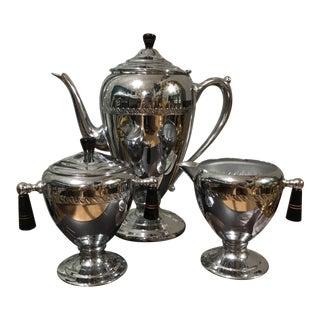 Vintage Art Deco Style Coffee/Tea Service Set For Sale