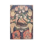Image of 1954 Portrait of a Tibetan Mystic, Original Parisian Photogravure After 18th C. Tibetan Painting For Sale