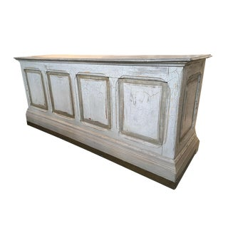 Antique French Counter Island For Sale