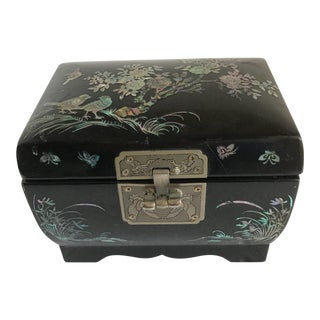 Asian Chinoiserie Jewel Music Box