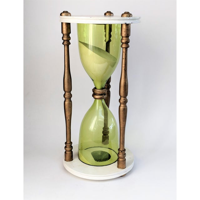 Green Oversized Hourglass Timer For Sale - Image 8 of 10