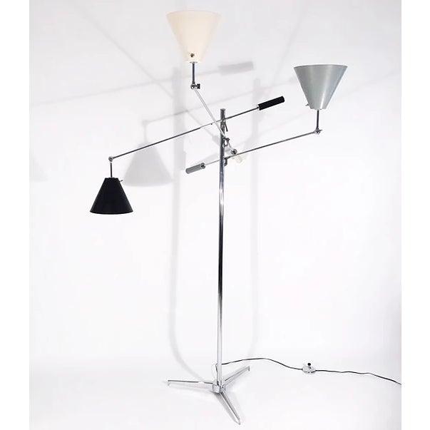 Italian Arredoluce Triennale Lamp For Sale - Image 3 of 5