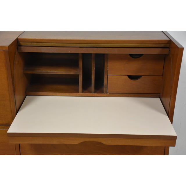 Mainline by Hooker Roll Top Desk For Sale In Boston - Image 6 of 11