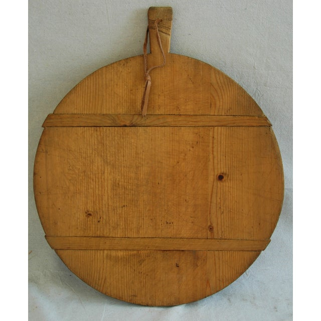 1920s Large French Harvest Bread Cheese Board - Image 2 of 5