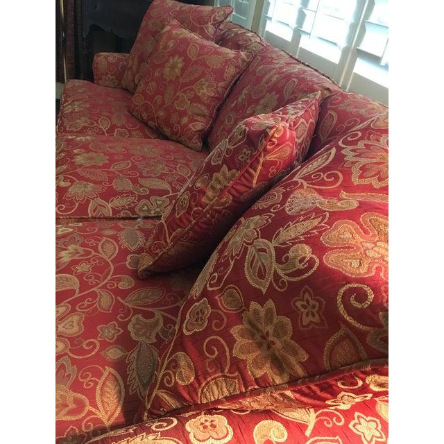 Pillows Traditional Sofa: Traditional Henredon Sofa With Pillows