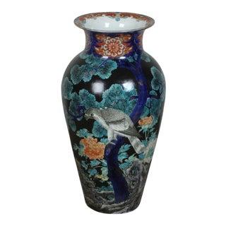 Early 20th Century Large Japanese Meiji Period Koransha Vase For Sale