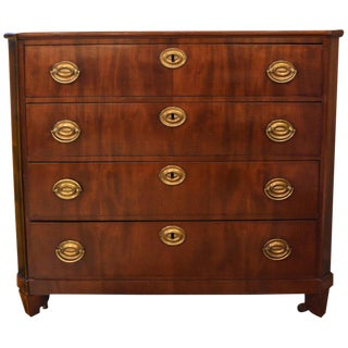 Early 19th Century Small Mahogany Chest