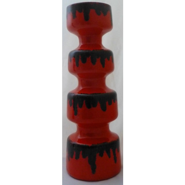 Mid-Century Modern Dayle Rushall California Studio Art Pottery Vases - A Pair For Sale - Image 3 of 10