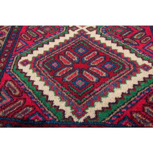 "Apadana - Vintage Persian Hamadan Rug, 2'8"" x 4'4"" For Sale - Image 4 of 5"