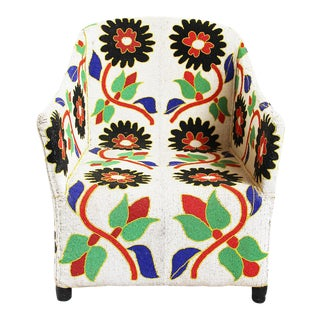 Yoruba Beaded Chair