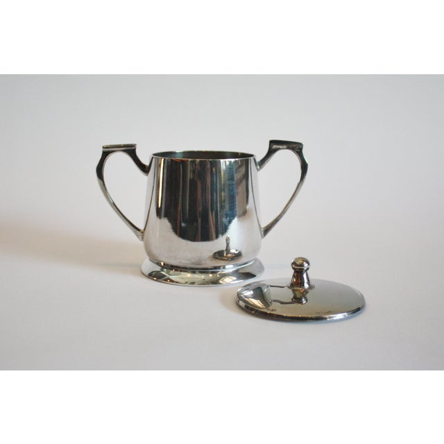 6 Piece Silver Tea & Coffee Service For Sale - Image 5 of 6