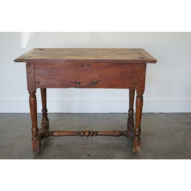 Antique French Louis XIII Side Table For Sale - Image 4 of 9
