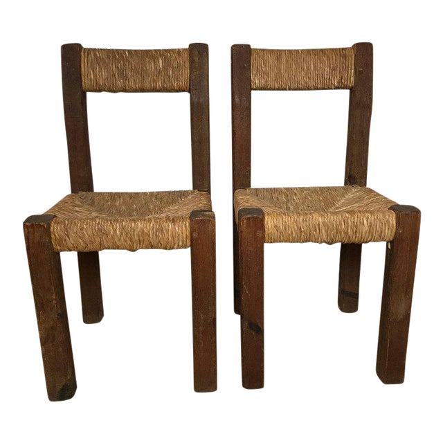Pair of 19th Century French Side Chairs For Sale