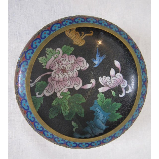 Vintage Chinese Cloisonné Bowl - Image 4 of 5