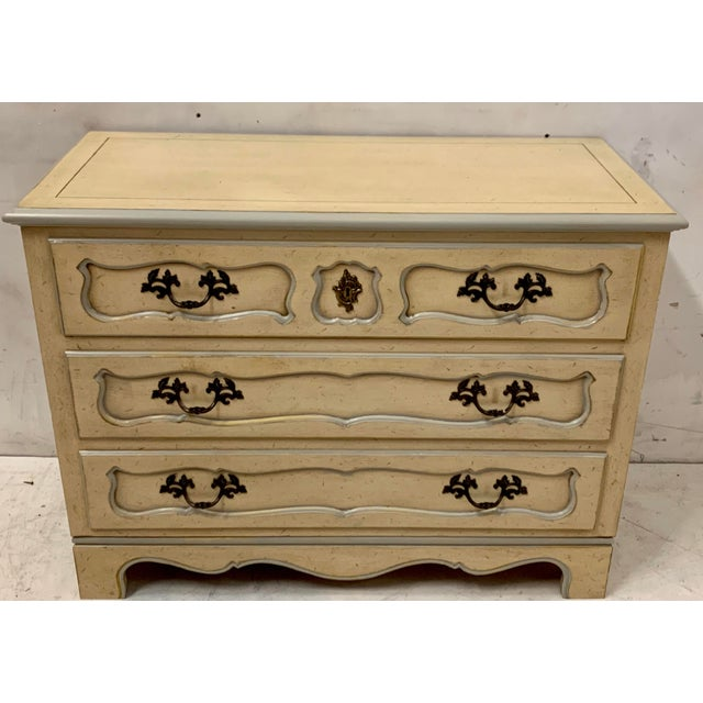 Baker Furniture Company Pair of Baker Furniture French Style Chests For Sale - Image 4 of 8
