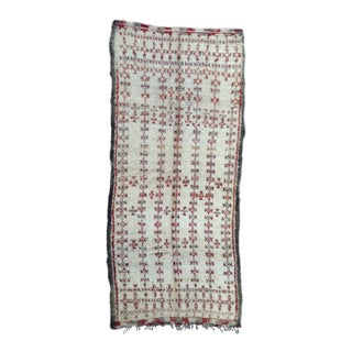 1980s Beni Ourain Rug - 6′2″ × 13′11″ For Sale