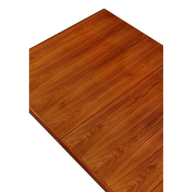 Vintage Rosewood Pedestal Base Dining Table - Image 3 of 4