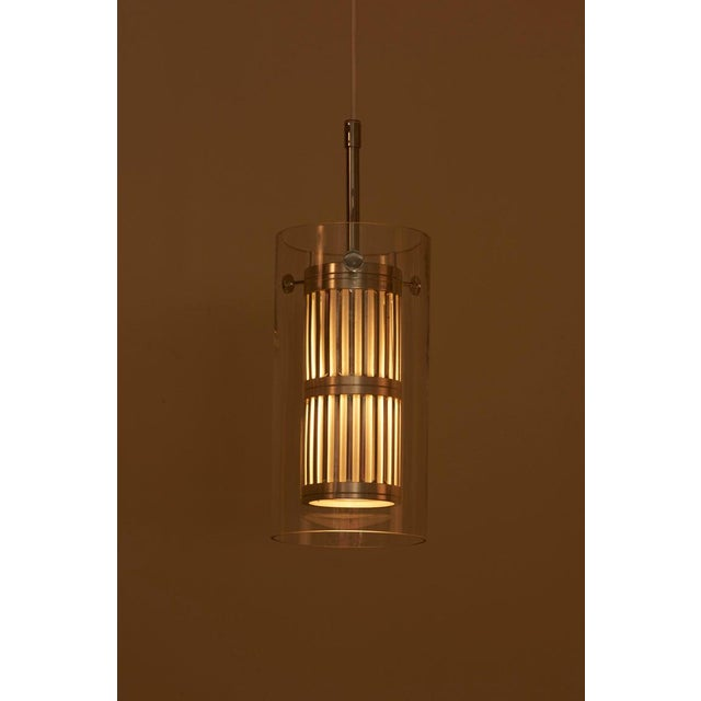 Silver 1960s Pendant Lamp in Manner of Hans Agne Jakobsson For Sale - Image 8 of 12