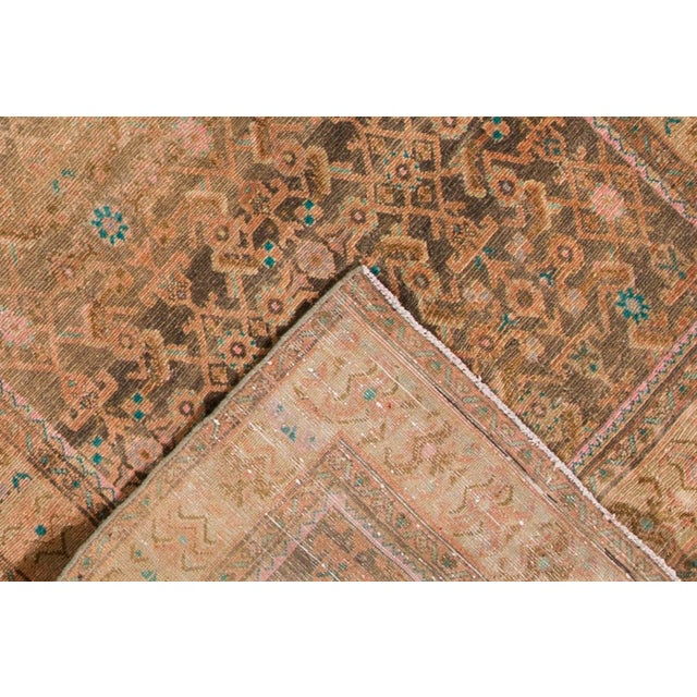 "Apadana - Vintage Persian Rug, 4'8"" x 12'6"" For Sale - Image 5 of 6"