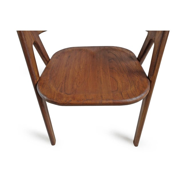 Elm Wood Deco Dining Chair For Sale In Los Angeles - Image 6 of 10
