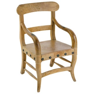 Early 20th Century Rustic Michael Taylor Chair For Sale