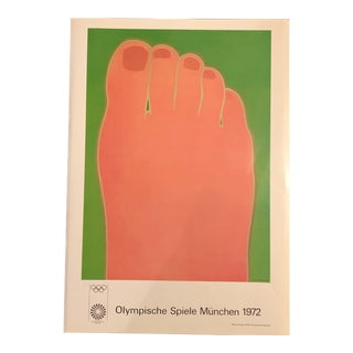 Tom Wesselmann 1972 Munich Olympics Art Poster For Sale