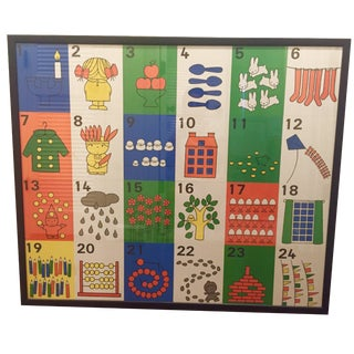 Vintage Dick Bruna 123 Frieze, Print
