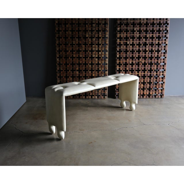 "Goatskin ""Puzzle"" Console by Scala Luxury For Sale - Image 13 of 13"