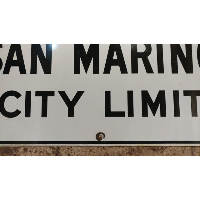 White 1930s San Marino City Limit For Sale - Image 8 of 9