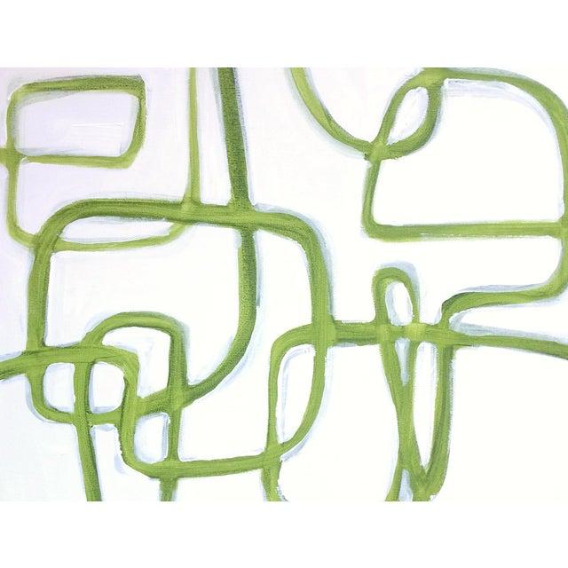 Linnea Heide 'Tendril' Original Abstract Painting - Image 3 of 8