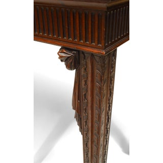 English Georgian Style '19th Century' Mahogany Six-Legged Console Table Preview