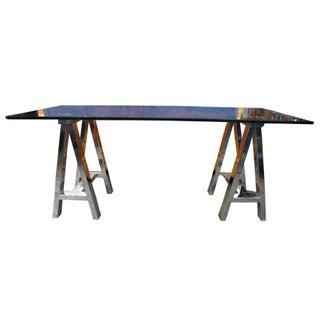 Campaign Williams Sonoma Mason Glass Top Writing Desk Preview