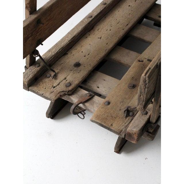 Antique Primitive Sled For Sale - Image 10 of 13