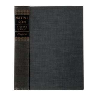 "1940 ""First Edition, Native Son"" Collectible Book For Sale"
