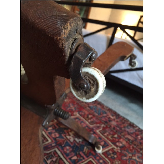 1940s Vintage Cane Office Chair - Image 7 of 8